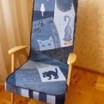 P1060448 150x150 - Кресло перетянутое джинсой