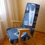 P1060449 150x150 - Кресло перетянутое джинсой