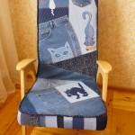 P1060450 150x150 - Кресло перетянутое джинсой