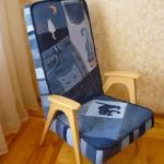 P1060452 150x150 - Кресло перетянутое джинсой