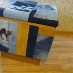P1060456 150x150 - Второй пуфик из джинсовых обрезков