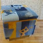 P1060458 150x150 - Второй пуфик из джинсовых обрезков