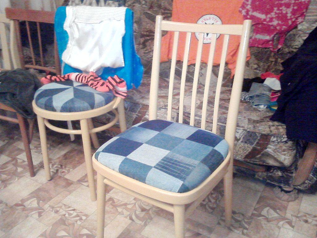 Реставрация старого стула своими руками фото до и после 98