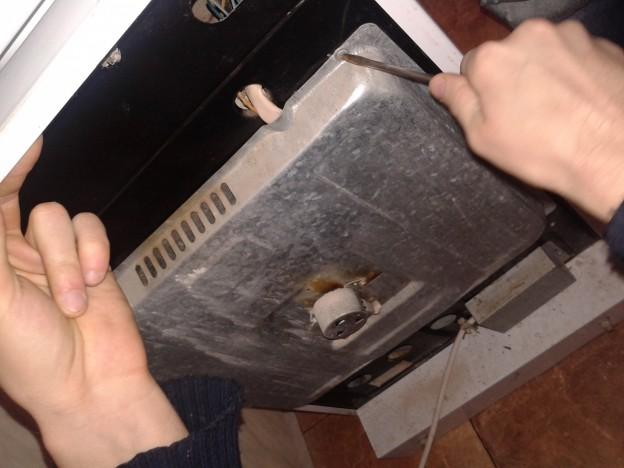 Замена тэна в духовке своими руками 10